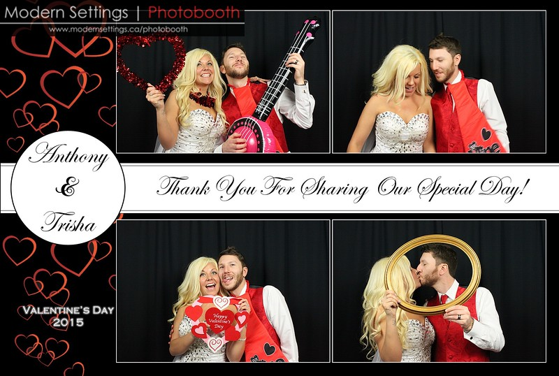 Trisha & Anthony's Wedding - February 14, 2015